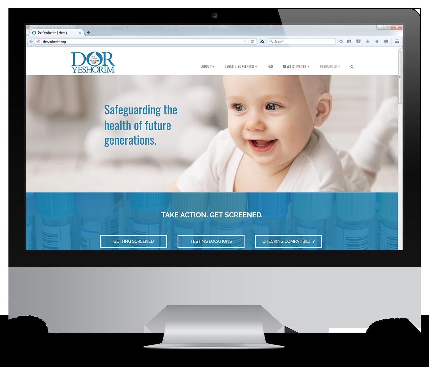 Dor Yeshorim Website
